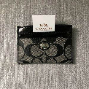 Coach classic cardholder. New with tags